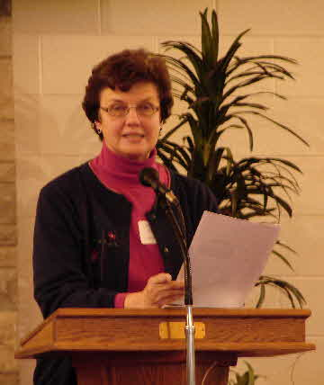 Myrna Grove talks about Lockport Mennonite Church
