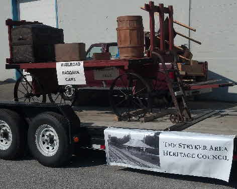 SAHC Parade Float With Depot Cart