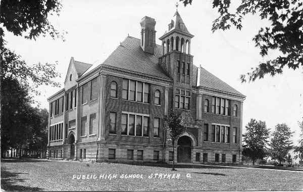 Stryker 1904 School Building