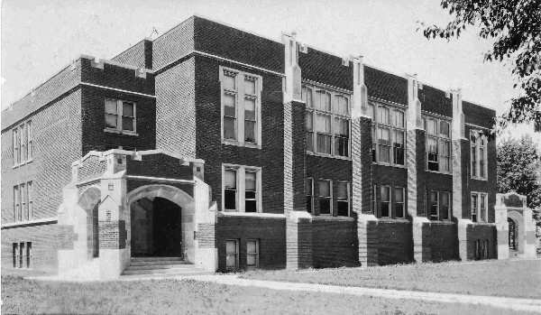 Stryker 1922 High School Building