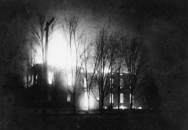 Stryker School Fire 1902